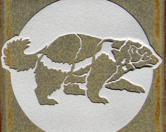 4x4 Wolverine Tile Coaster