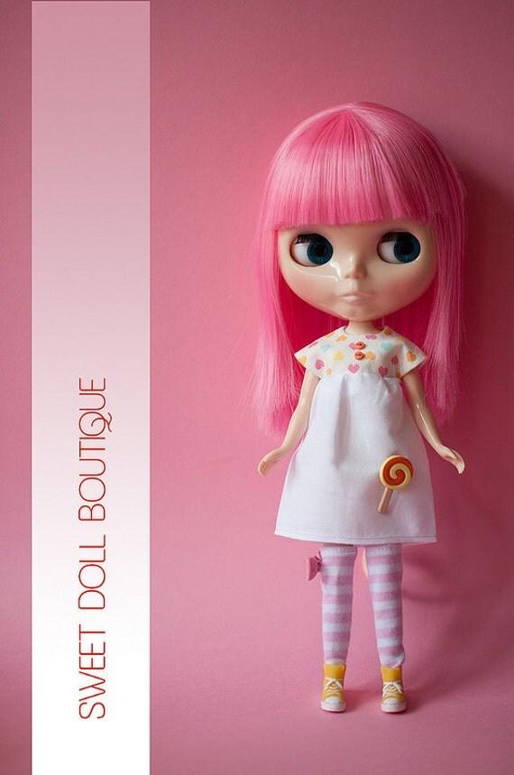 SDB -  Cutie Heart and Chups Collection - Cute Chupa Chups Orange/Yellow