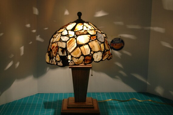 Montana Agate table lamp