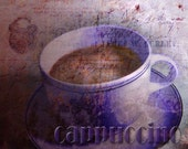 Cappuccino Fine Art Print 8x10