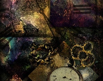 Space and Time Fine Art Print