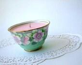 The Amelia Vanilla Sugar Candle- Vintage Sugar Bowl