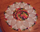 Pineapple Party Doily... FREE Shipping