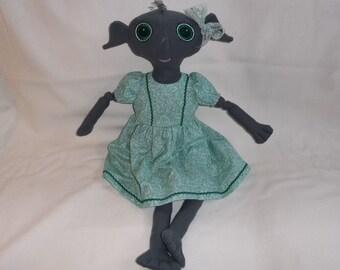 Bracken the House Elf Doll