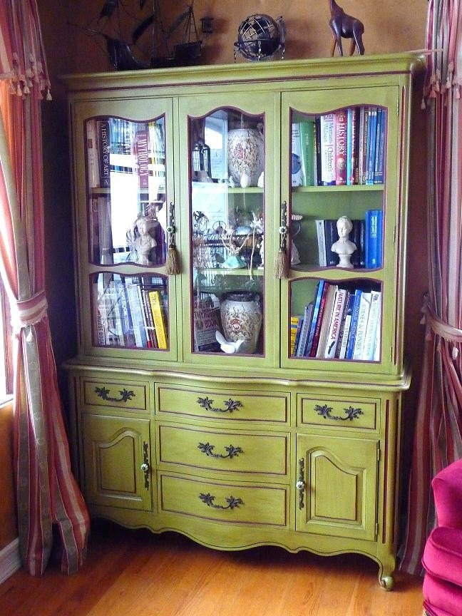Beautiful Vintage China Cabinet By Lavanttehome On Etsy