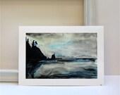 Olympic Coast- Fine art reproduction print