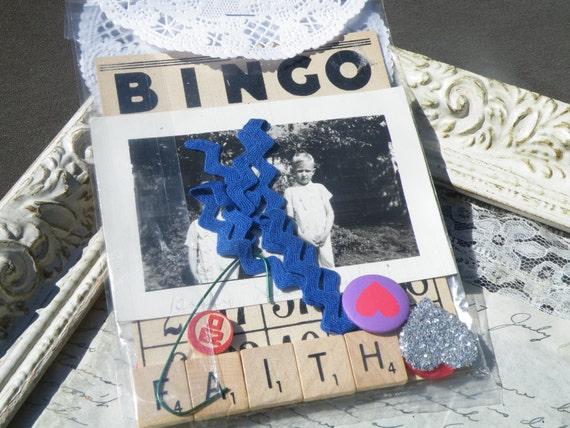50% off item, enter LOVE99 at checkout.  F A I T H DIY Card Kit