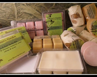 Scented Soy Wax Melts - Waffle Bars - Home and Living - Citronella - Lavender - Peppermint - Candles - Eco Etsy - Mothers Day Gift - Pine
