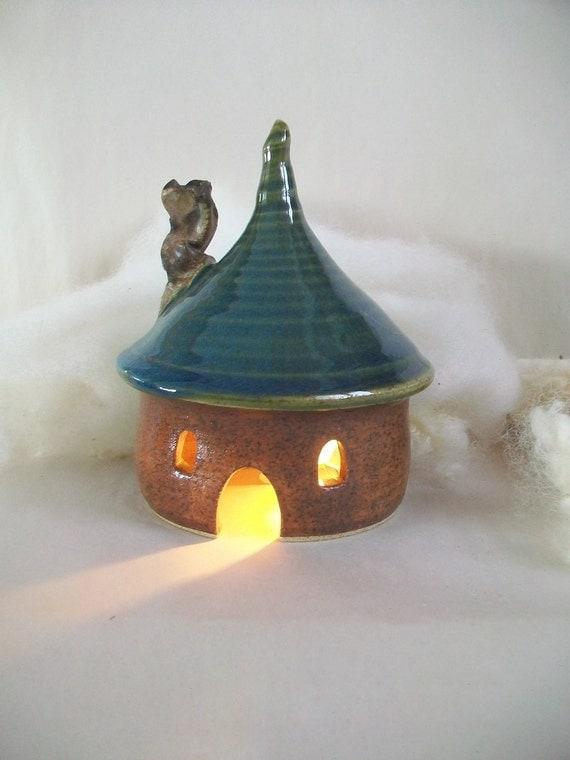ToadHouse/ Fairy House/ Night Light