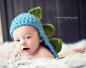 Crochet PATTERN - Dino Hat - Instant download