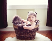 Crochet PATTERN - Bear Hat - Instant download