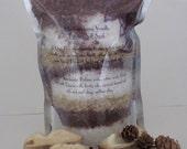 Blackraspberry Vanilla Fizzing Dead Sea Salt soak- 16oz