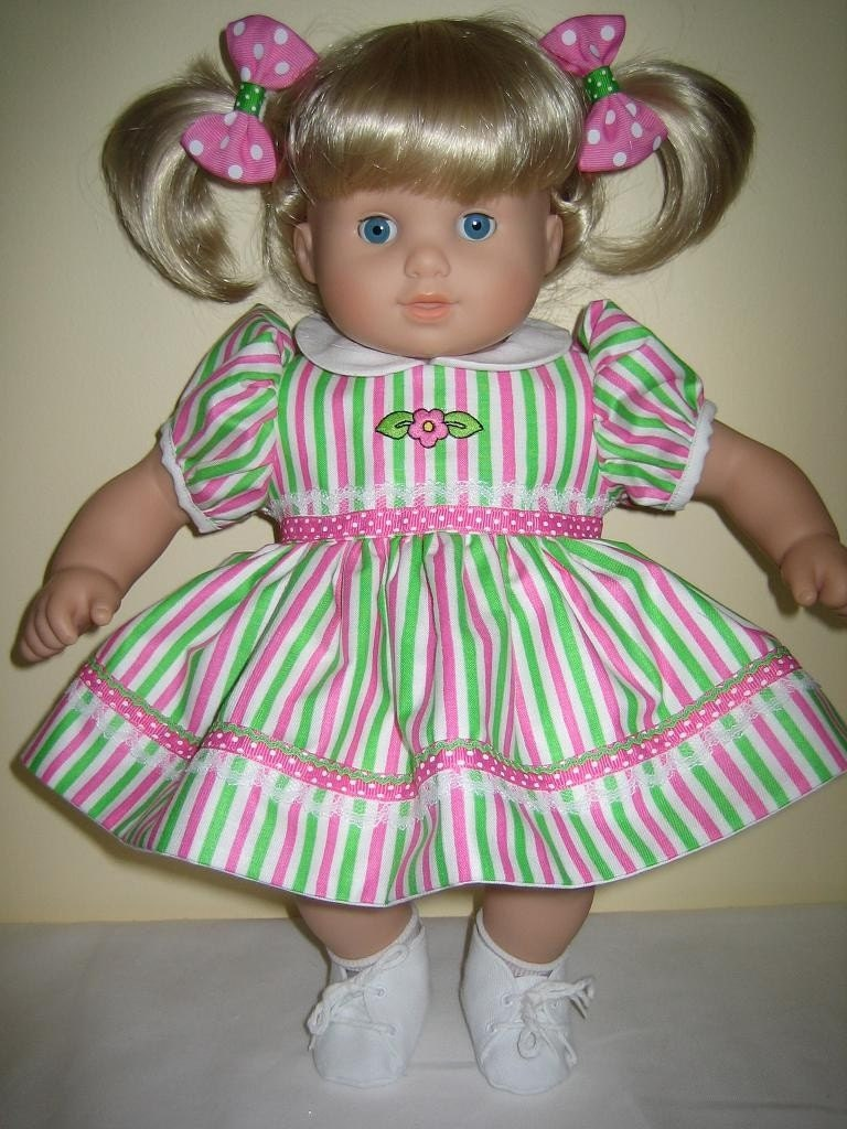 reserved for katylarson pink and green stripes dress set made