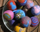 Happy Critters (Hand Felted Wool Balls)