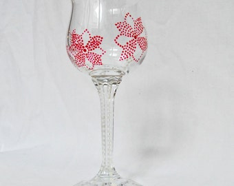 Flower Glass upcycled