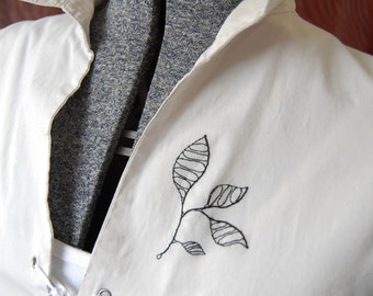 White Shirt Tied - Upcycled