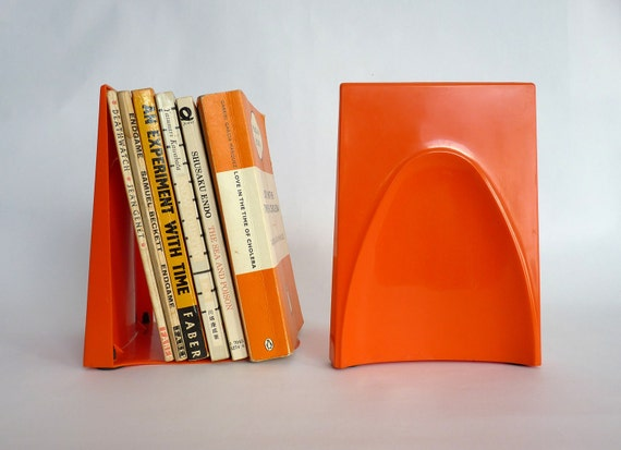 Retro Raeco Library Plastic Bookends