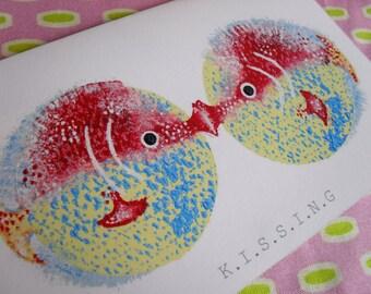 Fish mini card