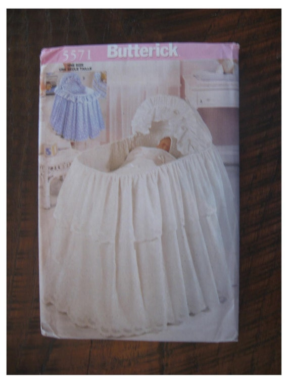 Bassinet Skirt Pattern 86