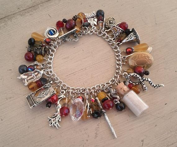 Deathly Hallows Charm Bracelet