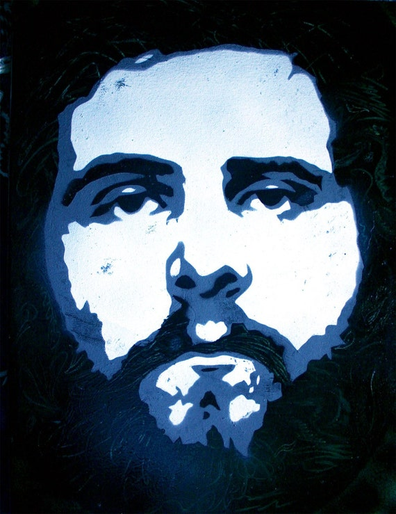 Andy Hull of Manchester Orchestra Portrait Pop Art ///////ON SALE////////