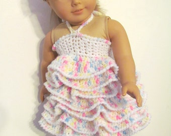 Sale! Pattern 48 Party Dress or Blouse for 18 inch Doll, Permission to Sell Finished Item