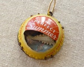 Perfect Summer Found Object Charm