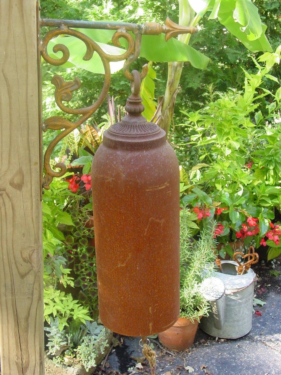 Large Garden Gong Bell