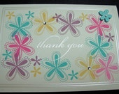 Thank You Cards set of 5