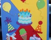Very Happy Birthday card