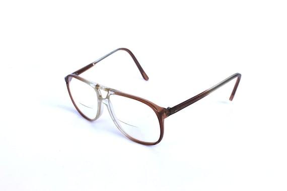 vintage 1970s 8s aviator glasses frames