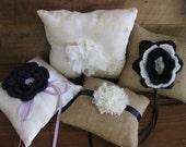 Custom, Handmade Ring Bearer Pillow