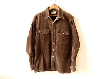 Vintage L Corduroy Shirt
