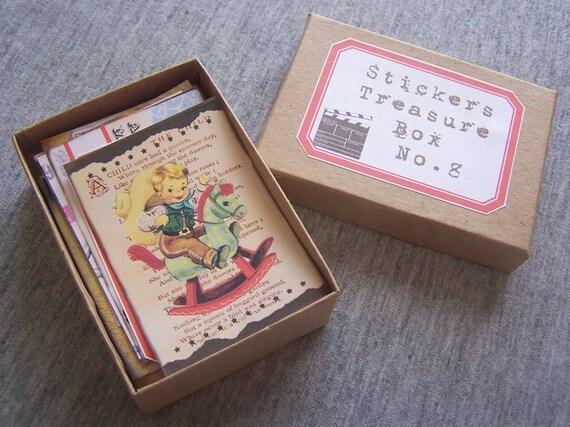 Stickers Treasure Box No. 8