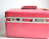 Pretty in Pink Vintage Samsonite Train Case