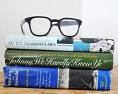 Vintage 1970s Political Literature Collection and a pair of Retro Eyeglasses