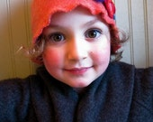 Posy Cloche made from Reclaimed Lambswool