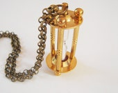 Steampunk Hour Glass Necklace- Only 1 Available