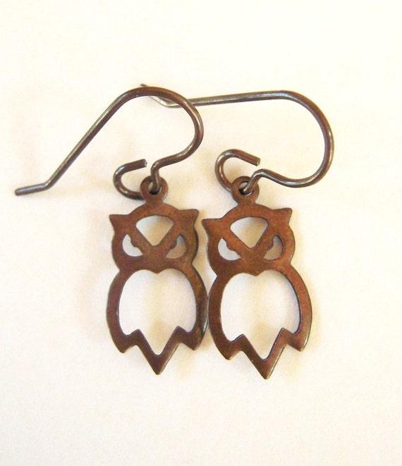 Owl Earrings- Hootie Dangle Earrings