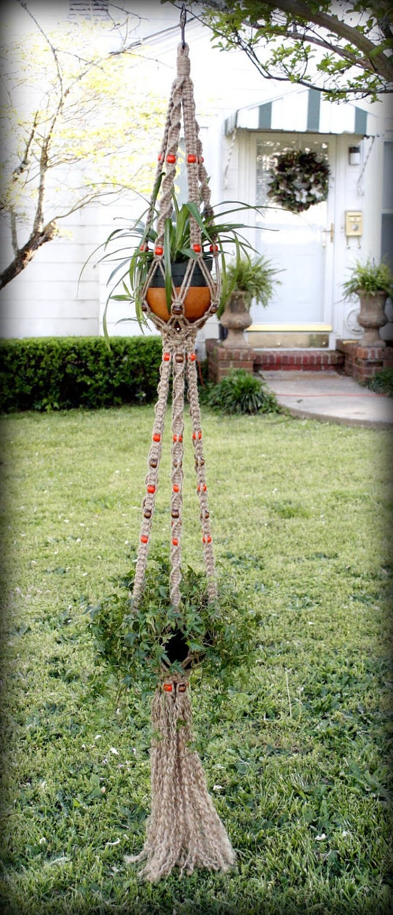 macrame patterns hanging basket items similar to macrame plant hanger hanging basket 1593