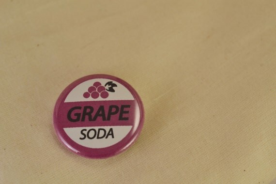 Grape Soda Pin inspired by Disney Pixar's movie Up - Wilderness Explorer Button Pin