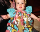 Ruffles and Bows Boutique Style Baby Dress or Shirt 6 months to 4T Clothes that Grows