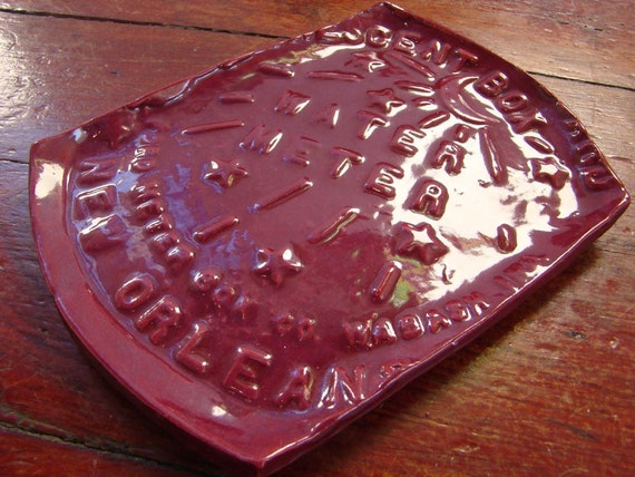 New Orleans Water Meter Ceramic Serving Tray