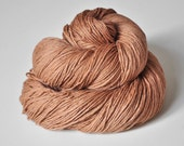 Melting milk chocolate truffles OOAK - Silk/Wool/Cashmere Yarn Sport weight - LIMITED EDITION