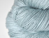 Chilly winter morning OOAK - Silk/Merino Yarn Lace weight