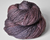 Low spirits OOAK - Tussah Silk Yarn Lace weight