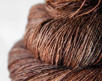 Mother earth is stirring - Tussah Silk Lace Yarn