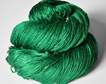 Absinthe - Silk Lace Yarn - knotty skein