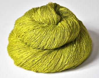 Blooming acorn - Tussah Silk Lace Yarn