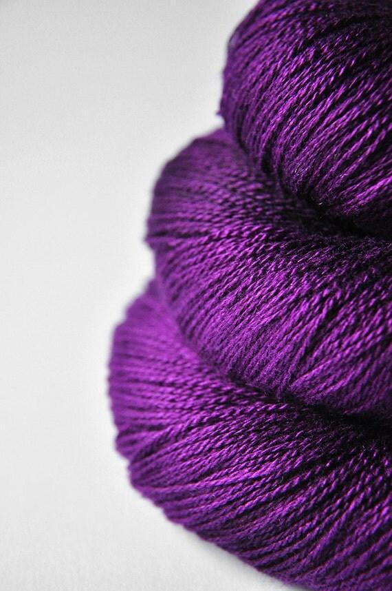 Poisoned by love OOAK - Silk/Merino Yarn Lace weight